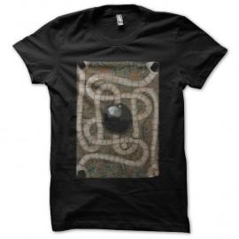 Shirt Jumanji plateau du jeu noir pour homme et femme
