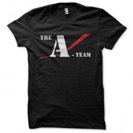Shirt L'agence tous risques A-team noir pour homme et femme