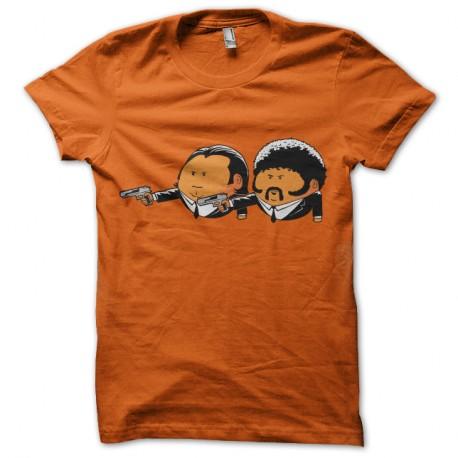 Shirt pulp fiction parodie tarantino orange pour homme et femme