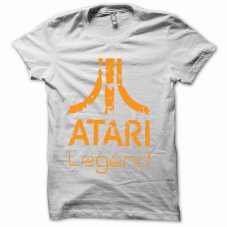 Shirt japan Atari Legend orange/blanc pour homme et femme
