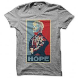 Shirt Mimi Mathy parodie Tyrion Lannister Hope Obama gris pour homme et femme