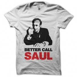 Shirt Breaking Bad Better Call Saul blanc pour homme et femme