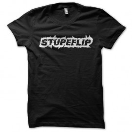 Shirt Stupeflip Noir pour homme et femme