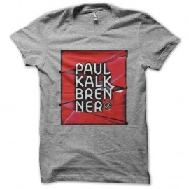 Shirt paul Kalkbrenner gris pour homme et femme