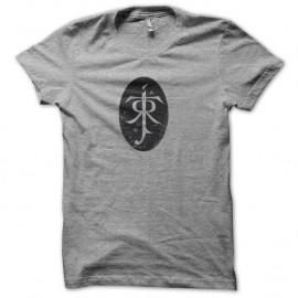 Shirt Tolkien effet Vintage gris pour homme et femme