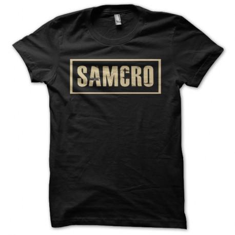 Shirt sons of anarchy special double face samcro noir pour homme et femme