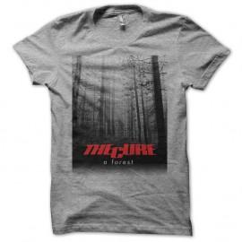 Shirt The Cure a forest gris pour homme et femme