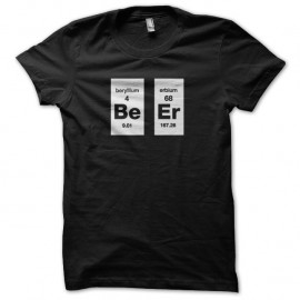 Shirt parodie Breaking Bad Beer noir pour homme et femme