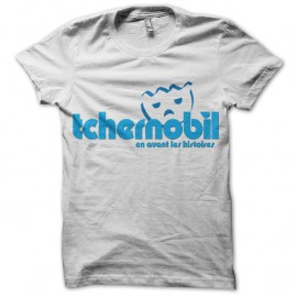 Shirt tchernobil parodie playmobil tchernobyl blanc pour homme et femme