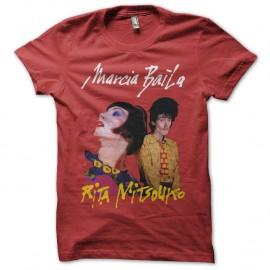 Shirt Marcia Baila Rita Mitsouko rouge pour homme et femme