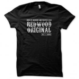 Shirt SoA Redwood Original - SAMCRO noir pour homme et femme