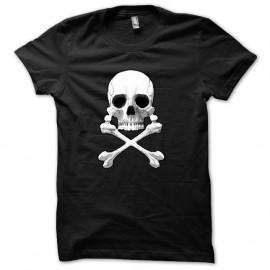 Shirt Albator Captain Harlock. Skull noir pour homme et femme