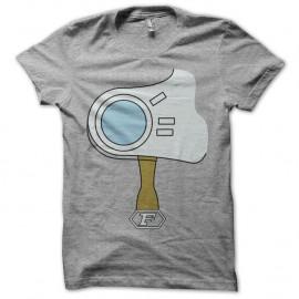 Shirt Capitaine Flam armure gris pour homme et femme
