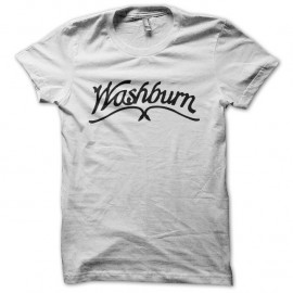 Shirt Washburn blanc pour homme et femme