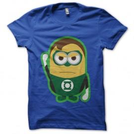 Shirt minion parodie green lantern bleu pour homme et femme