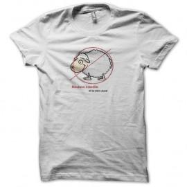 Shirt mouton et ta mère blanc pour homme et femme