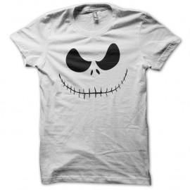 Shirt Monsieur Jack Tim Burton blanc pour homme et femme