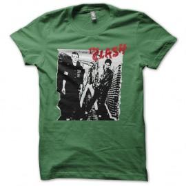 Shirt The Clash Original vert pour homme et femme