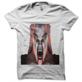 Shirt vampire men blanc pour homme et femme