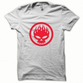 Shirt Offspring rouge/blanc pour homme et femme