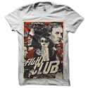 Shirt Fight Club version comics blanc pour homme et femme
