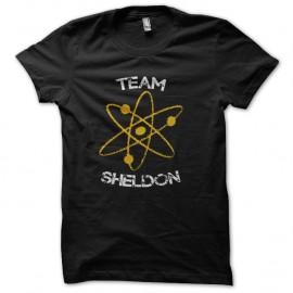 Shirt Team Sheldon Big bang Theory noir pour homme et femme
