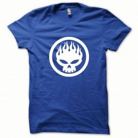 Shirt Offspring blanc/bleu royal pour homme et femme