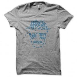 Shirt walter white heinsenberg crystal éclaté gris pour homme et femme