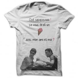 Shirt scarface oye sapapaya en blanc pour homme et femme
