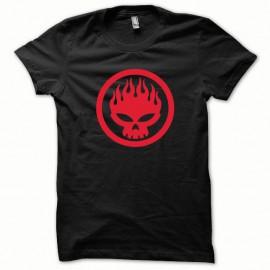 Shirt Offspring rouge/noir pour homme et femme