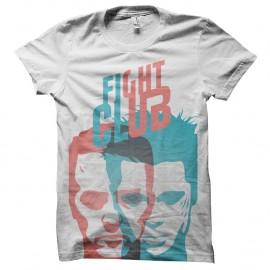 Shirt Fight Club - Jack & Tyler blanc pour homme et femme