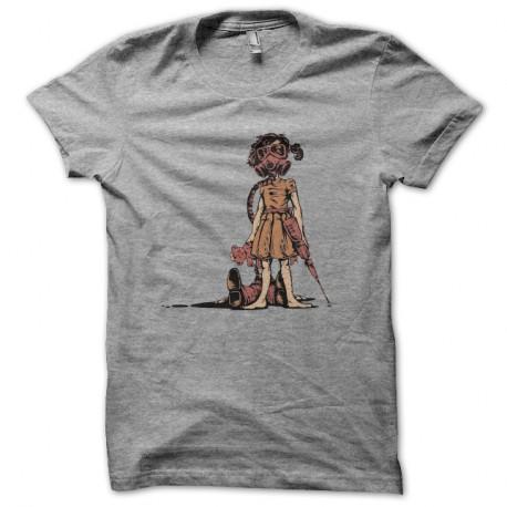 Shirt fallout nuclear girl gris pour homme et femme