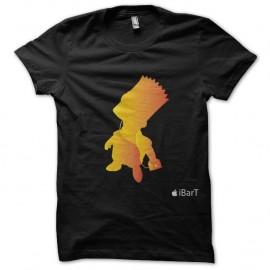 Shirt bart simpson parodie couleur noir pour homme et femme