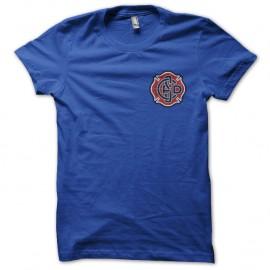 Shirt chicago fire écusson bleu royal pour homme et femme
