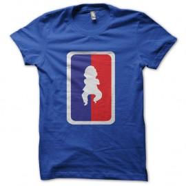 Shirt opa gangnam style NBA en bleu pour homme et femme