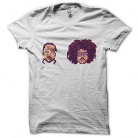 Shirt lmfao faciales en blanc pour homme et femme
