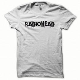 Shirt Radiohead noir/blanc pour homme et femme
