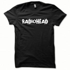 Shirt Radiohead blanc/noir pour homme et femme
