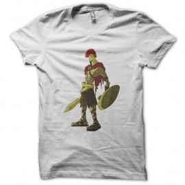Shirt spartacus soldat blanc pour homme et femme