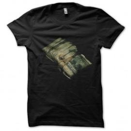 Shirt liasse de billets en noir pour homme et femme