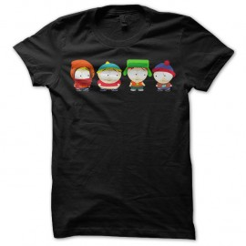 Tee-Shirt South Park noir pour homme et femme