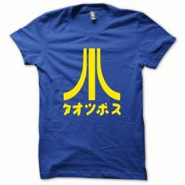 Shirt Atari Japon original de couleur jaune/bleu royal pour homme et femme