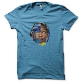 Shirt pharrell williams album girl bleu ciel pour homme et femme