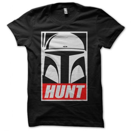 Shirt Star Wars - HUNT noir pour homme et femme