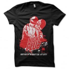 Shirt Night Club et daft punk noir pour homme et femme