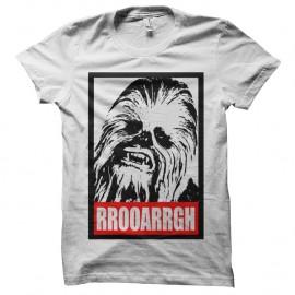 Shirt RRooarrgh chewi blanc pour homme et femme