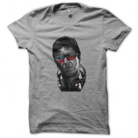 Shirt tony montana fashion en gris pour homme et femme