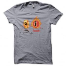 Shirt l'anneau du seigneur des anneaux gris pour homme et femme