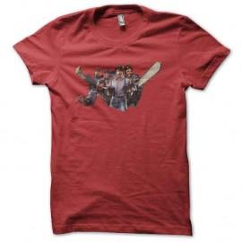 Shirt nanards et co rouge pour homme et femme