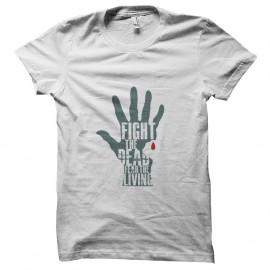 Shirt Walking Dead Fear the living pour homme et femme